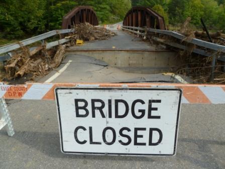 Bridge closed 2