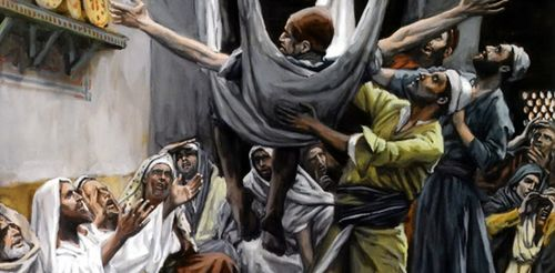 Jesus Paralytic Roof1