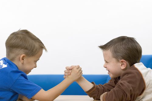 Classroom Competition Arm Wrestling